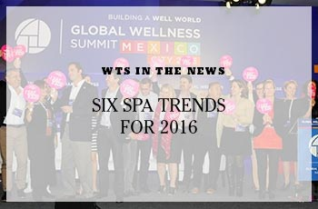 Spa Trends for 2016